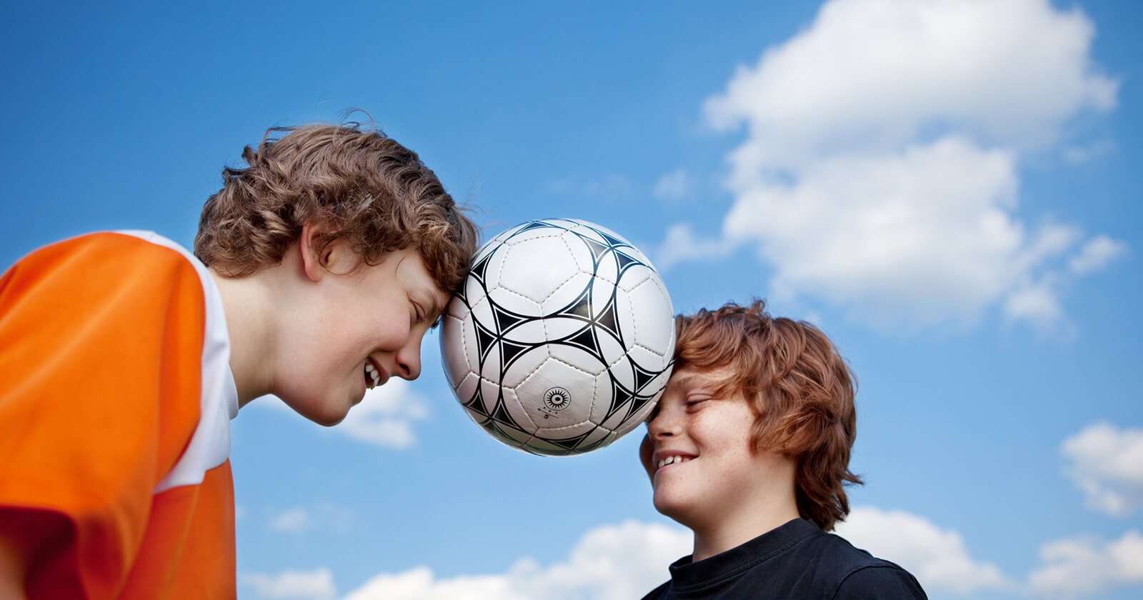 Ursache für einen Nasenbruch ist oft ein Fußballspiel.