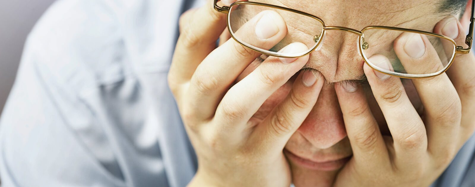 Nasenpolypen können aufgrund der beeinträchtigten Atmung auch zu Erschöpfung führen.