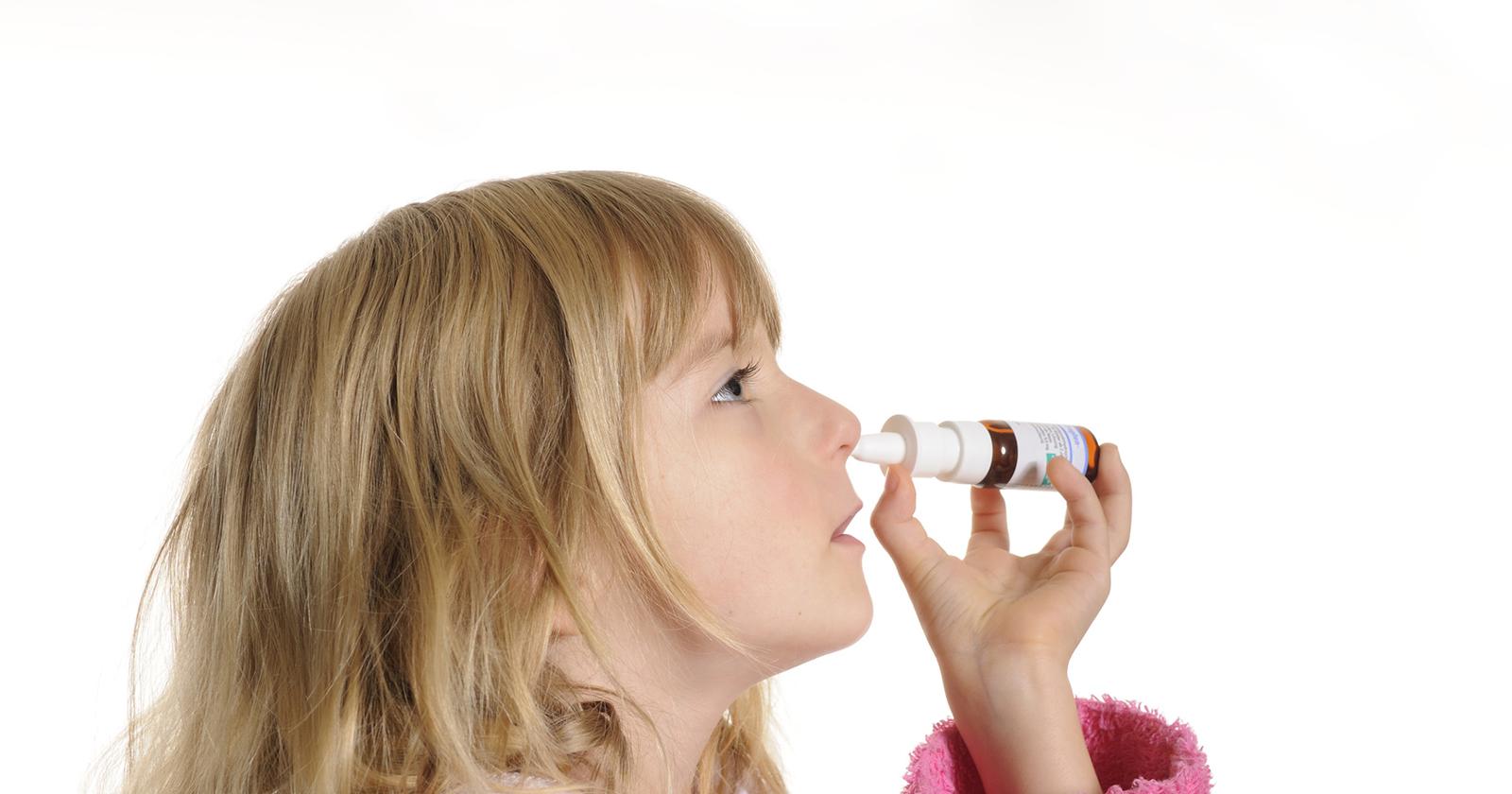 Nasenspray für Kinder