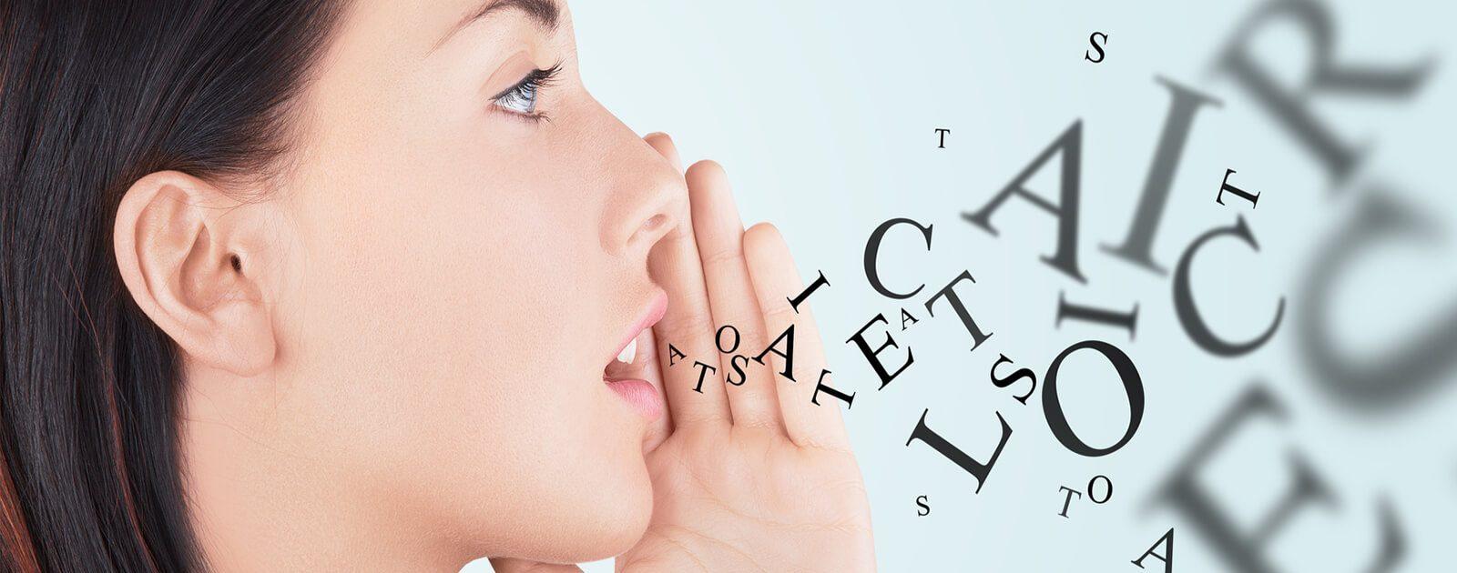 Wie funktioniert Sprechen? Damit wir sprechen oder singen können, muss sich eine ganze Reihe von Organen beteiligen.
